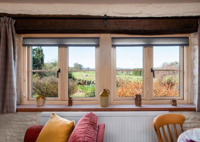 Enjoy beautiful views from Imglewood a luxury dog-friendly holiday cottage in Cumbria | Howscales,