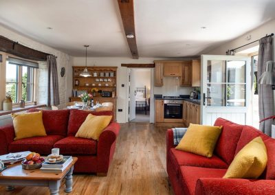 Inglewood open plan holiday cottage in Cumbria | Howscales