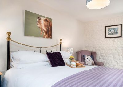 Hazelrigg luxury holiday accommodation for 2 in the Eden Valley | Howscales
